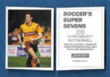 Motherwell Chris McCart 212